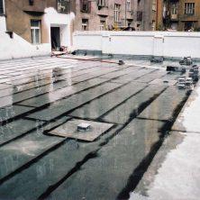 Střešní parkoviště Praha – Smíchov