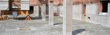 Hydroizolace podzemních garáží krystalickou izolací