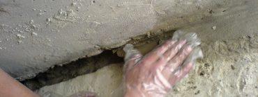 Krystalická izolace konstrukce z vodostavebního betonu