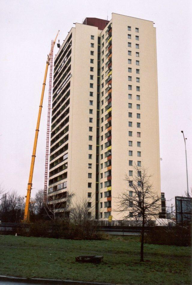 Nejvyšší bytový dům v ČR, Praha