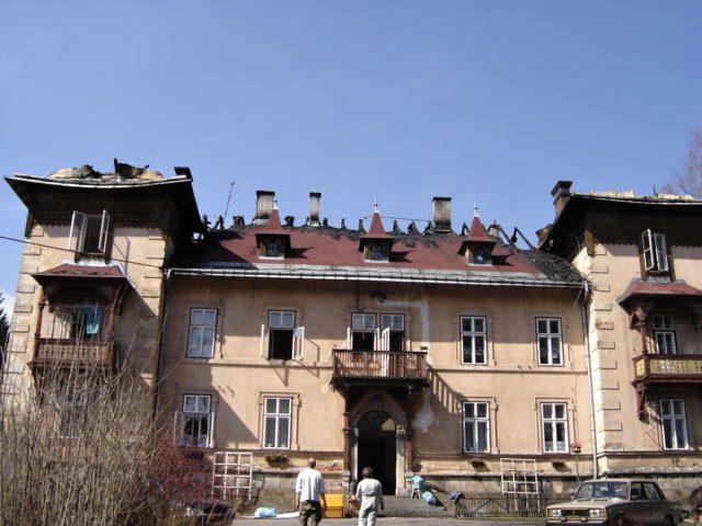 Vila Maria, Lázně Fořt před rekonstrukcí