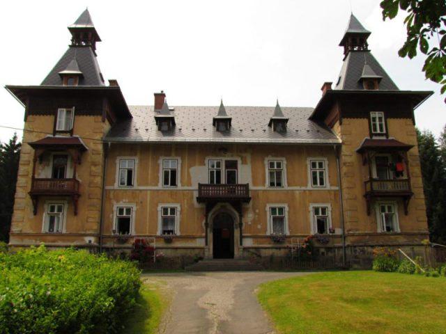 Vila Maria, Lázně Fořt