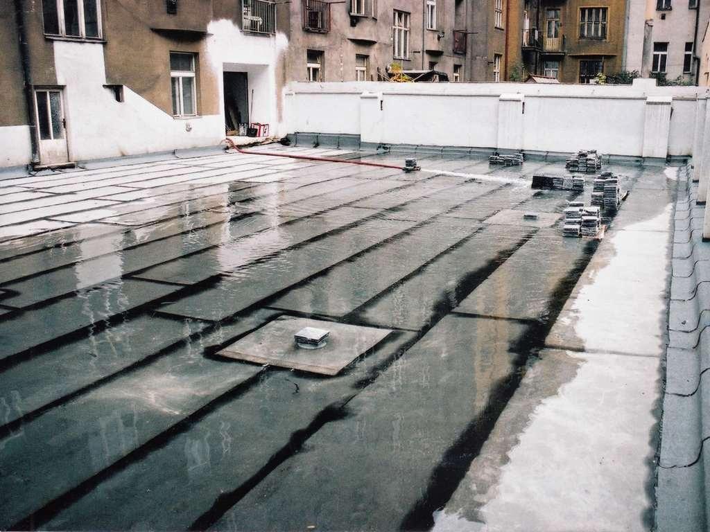 Hydroizolace mostů speciálními střešními pásy